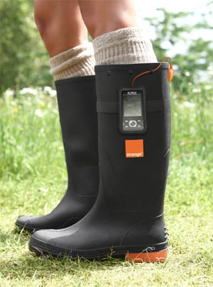 mobile charger boots