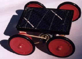 How to make a toy car | Solar Powered Fun