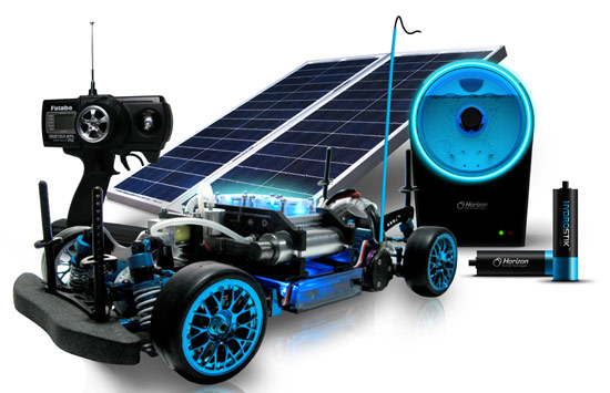 Fuel cell rc car