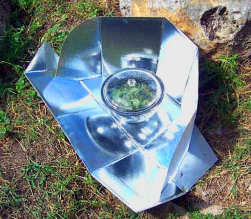 solar cooking kit