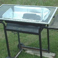 solar oven made from grill