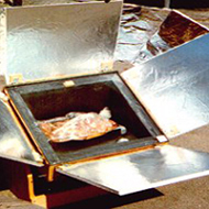 how to make a solar oven from a shoe box