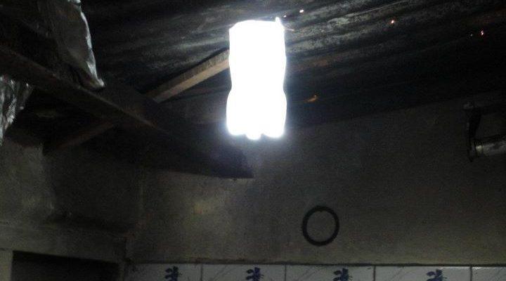 solar bottle light