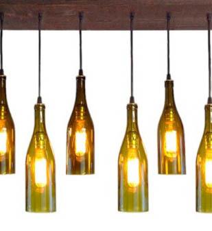 bottle cutter lamps
